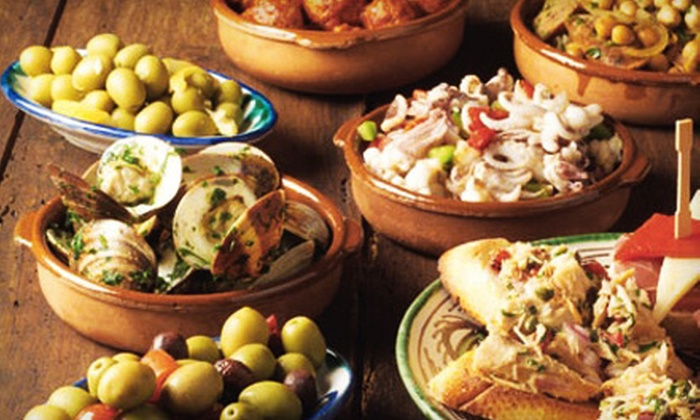 El Carajo International Tapas & Wine - Coral Way: $20 for $40 Worth of Authentic Spanish Fare and Wine at El Carajo International Tapas & Wine