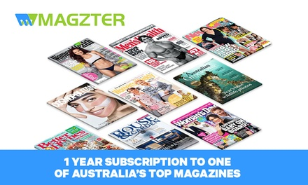 12 Month Online Access to Choice of Ten Magazines .99 total value up to $54.99