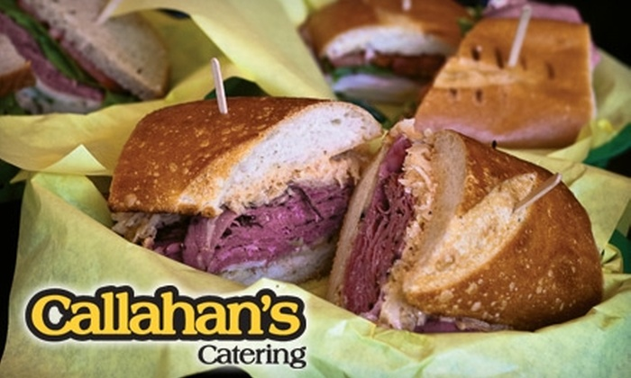 Callahan's Catering - Louisville: $35 for $100 Worth of Box Lunches and Catered Fare from Callahan's Catering