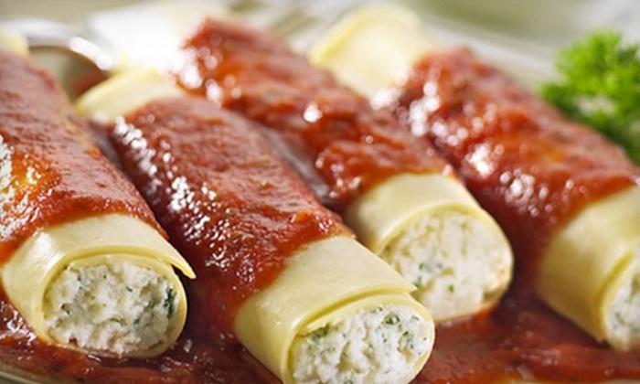 Paisano's Italian Restaurant - Dallas: Italian Dinner Fare at Paisano's Italian Restaurant in Dallas (Up to 55% Off). Three Options Available.