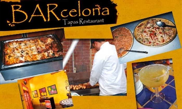 BARcelona Tapas Restaurant - Downtown Indianapolis: $15 for $35 Worth of Small Plates and Drinks at BARcelona Tapas Restaurant