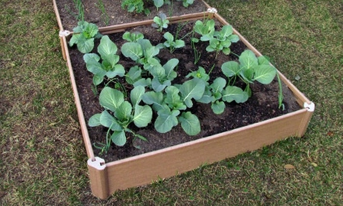 Greenland Gardener: $15 for a Single-Bed Raised Garden Kit from Greenland Gardener ($30 Value)
