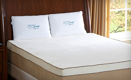 8-Inch Nature's Sleep Twin Memory-Foam Mattress (a $1,100 value) - Nature's Sleep in