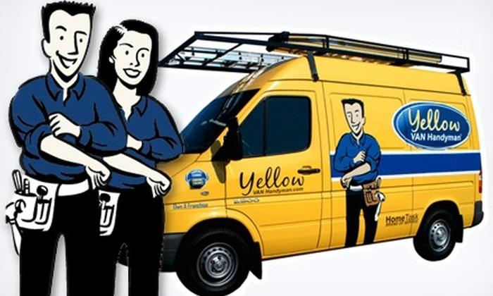 Yellow Van Handyman - German Village: $69 for Two Hours of Handyman Services from Yellow Van Handyman ($159.99 Value)