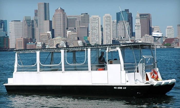 Boston Green Cruises - Downtown: Boston Harbor and Charles River Tours from Boston Green Cruises. Two Options Available.