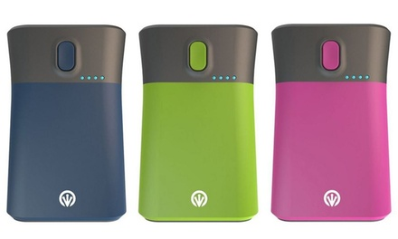 1 o 2 power banks de 9000mAh disponible en varios colores