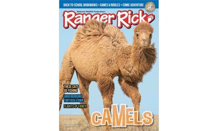 Ranger Rick Magazine Print and Digital Subscriptions (Up to 20% Off). Four Options Available.