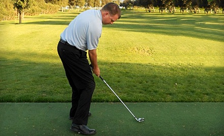 Private 1-Hour Lesson, Range Balls, and a Custom Club Fitting (a $110 value) - Lance Johnson Golf Academy in Escalon