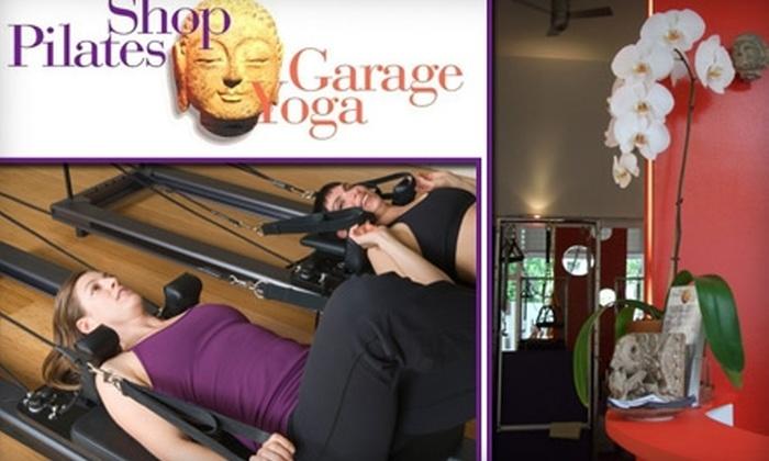 Pilates Shop/Yoga Garage Inc. - Astoria: $49 for Three Small-Group Pilates Sessions at Pilates Shop/Yoga Garage Inc. ($120 Value)