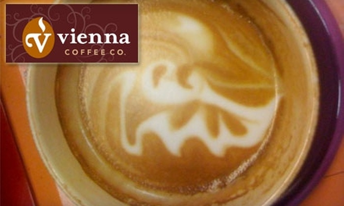 Vienna Coffee House and Bistro - Franklin: $5 for $10 Worth of Specialty Coffees and Café Cuisine at Vienna Coffee House and Bistro