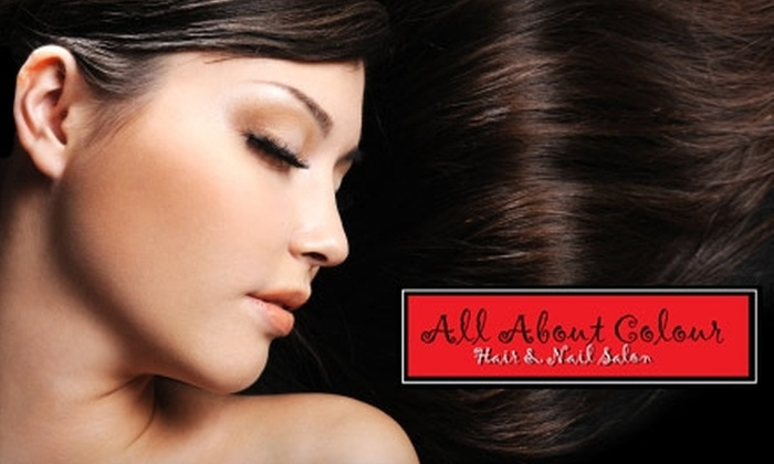 All About Colour Hair & Nail Salon - Leesburg: $30 for $60 Worth of Salon Services and Products at All About Colour Hair & Nail Salon