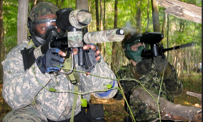 SplatterPark - Mount Gilead: $29 for Open Paintball Play and Equipment Rental for Two at SplatterPark in Mount Gilead ($60 Value)