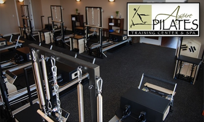 Aspire Pilates Training Center and Spa - Riverton: $35 for a Pilates Reformer Class and a Signature Facial at Aspire Pilates Training Center and Spa ($70 Value)