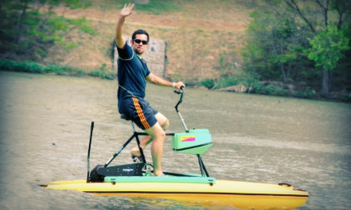 Austin Water Bikes - Bouldin: $22 for a One-Hour Water-Bike Rental for Two at Austin Water Bikes ($44 Value)