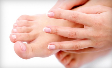 Basic Manicure and Pedicure (a $50 value) - Serenity Nails & Spa in Austin