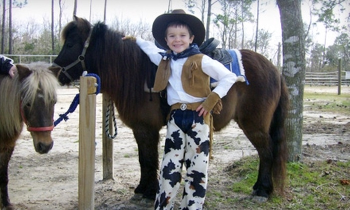 Northshore Riding Club - 14: $139 for a Two-Pony Party for Up To 27 children at Northshore Riding Club in Slidell ($285 Value)