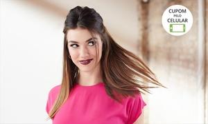 Claudio Dinoah Cabelo & Maquiagem: Claudio Dinoah – Asa Sul: escova inteligente ou selagem Inoar + escova modeladora (opção de design de sobrancelhas)