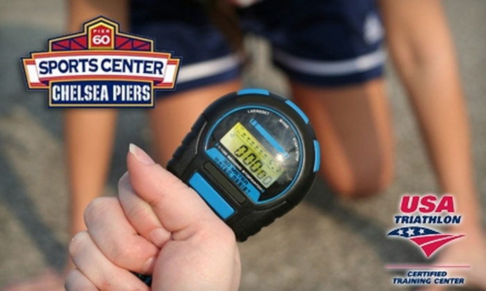 The Sports Center at Chelsea Piers - Chelsea: $50 for a Half-Day Triathlon Camp at The Sports Center at Chelsea Piers ($150 Value)