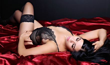 $54 for a 60-Minute Boudoir Photo-Shoot Package with Hair & Make Up at Memories Photography ($518 Value)