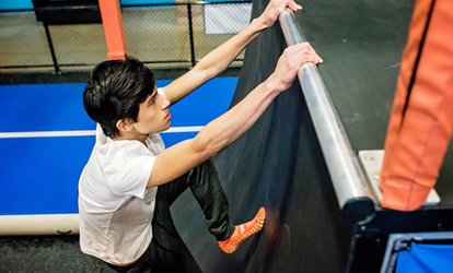 Jump Passes or Jump Around Party at Sky Zone - Kingston (Up to 40% Off). Six Options Available.