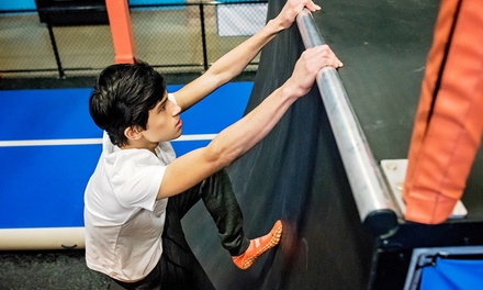 Jump Passes, Glow Tickets, or Jump Around Party at Sky Zone Kingston (Up to 40% Off). Five Options Available.