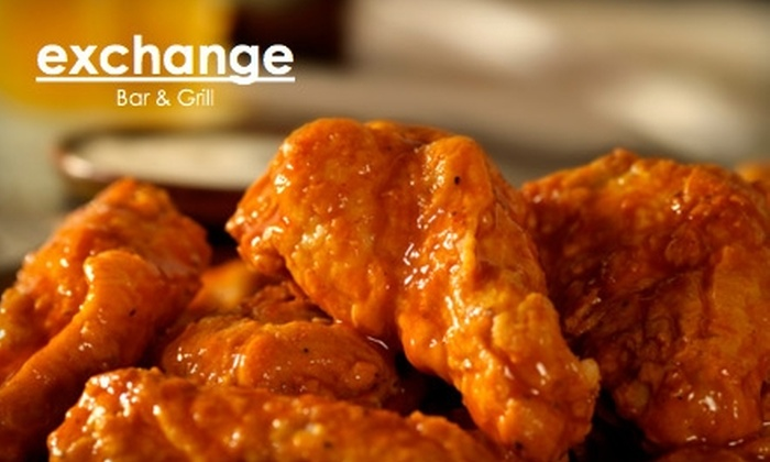 Exchange Bar & Grill - Gramercy Park: $15 for $30 Worth of Pub Fare and Drinks at Exchange Bar & Grill