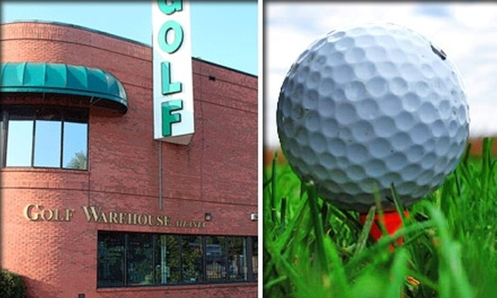 Golf Warehouse Atlanta - Cumberland: $50 for Four Golf Lessons with a PGA Master Golf Instructor at Golf Warehouse Atlanta