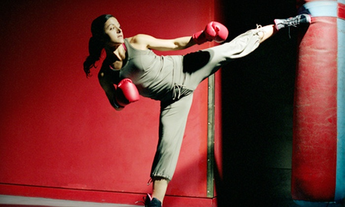 Elite MMA and Fitness  - Amarillo: $32 for One Month of Cardio Kickboxing or Children's MMA Classes at Elite MMA and Fitness ($65 Value)