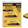 DeWalt 20V Max Compact XR Li-Ion Compact Battery (2-Pack)