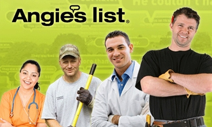 Angie's List: $12 for a One-Year Membership to Angie's List ($39 value)