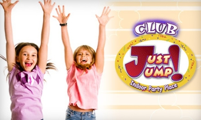Club Just Jump - Woodbury: $12 for Three Sessions of Kids' Open Play at Club Just Jump!