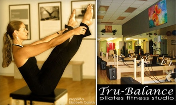 Tru Balance Pilates Fitness Studio - Broadway - Palmhaven:  $35 for a Private Pilates Lesson and a Group Equipment Class at Tru-Balance Pilates Fitness Studio