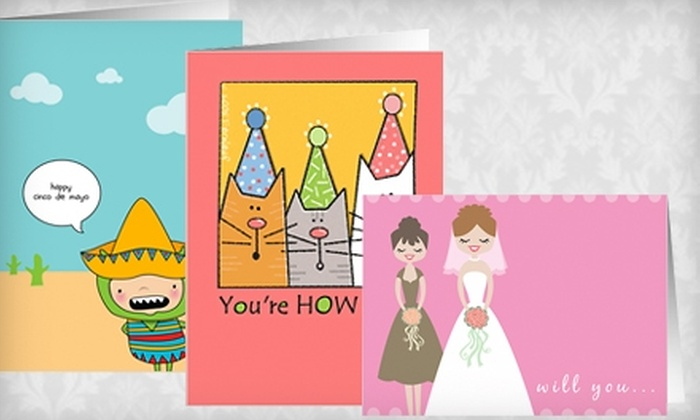 Greeting Card Universe: $10 for $20 Worth of Greeting Cards from Greeting Card Universe