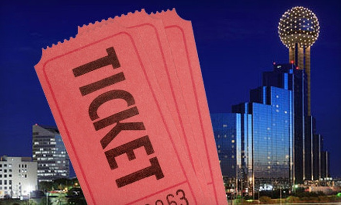 Fill A Seat Dallas: $40 for a Two-Person Membership for Free Concert and Show Tickets from Fill A Seat Dallas ($79.95 Value)