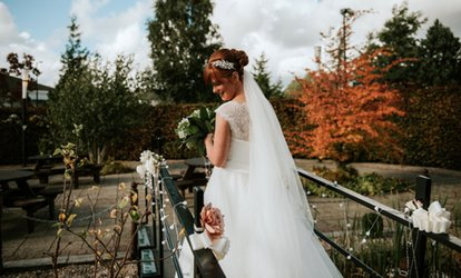 image for Wedding Package for 50 Day and Evening Guests at DoubleTree by Hilton Strathclyde Hotel (Up to 40% Off)