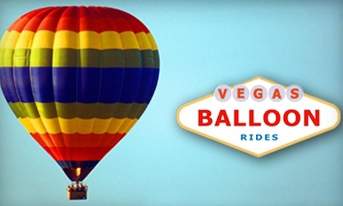 Vegas Balloon Rides: $159 for a Sunrise Hot Air Balloon Flight with Vegas Balloon Rides ($295 Value)