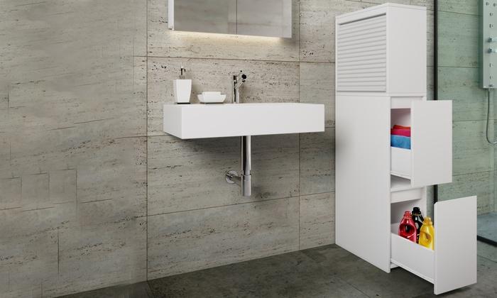 Meuble de rangement salle de bain Tasalo