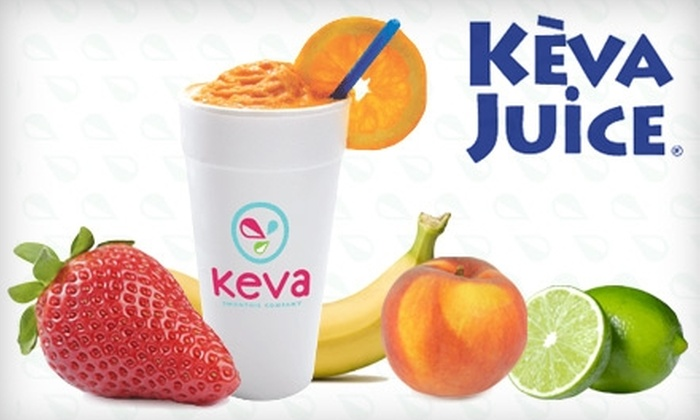 Keva Juice - Oro Valley: $5 for $15 Worth of Fresh-Fruit Smoothies and More at Keva Juice