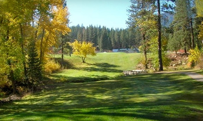 Terrace Lakes Resort - Garden Valley: $55 for 18 Holes of Golf for Two, Cart Rental, and a Bucket of Range Balls at Terrace Lakes Resort ($112 Value)