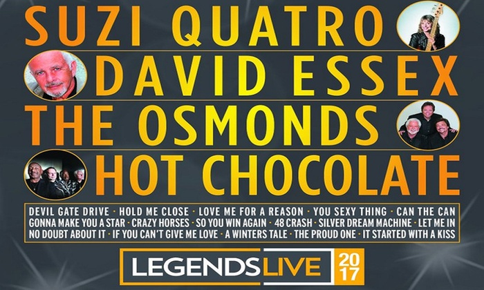 Legends Live Tour 20 22 October 2017 Two Locations Up To 33 Off
