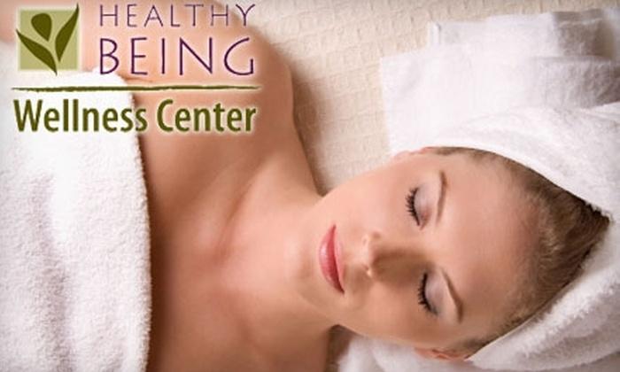 Healthy Being Wellness Center - St. Petersburg: $59 for an Organic Pumpkin Body Wrap and Salt Glow Body Scrub at Healthy Being Wellness Center ($150 Value)