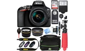 Nikon D3500 24.2MP 1080p Full HD DSLR Camera Bundle