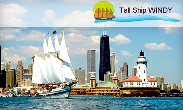 "Tall Ship ""Windy"" - Near North Side: Ticket for a Summer Sail on Tall Ship ""Windy."" Choose from Two Options."