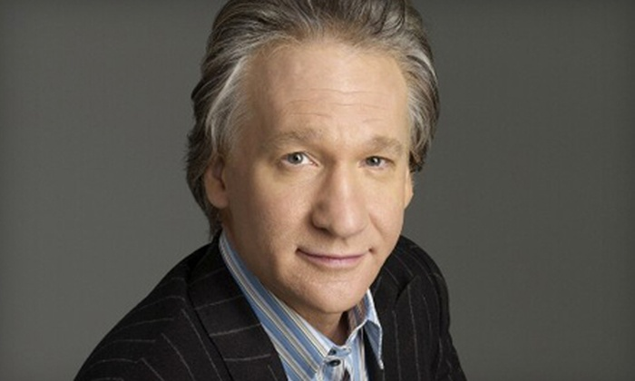 Bill Maher - Armenian Town: One Ticket to See Bill Maher at the William Saroyan Theatre on October 30 at 8 p.m. Two Options Available.