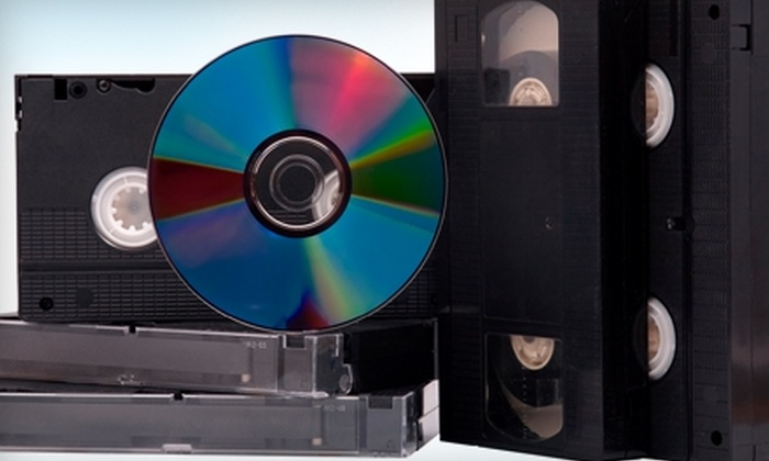 Royal Gor - Burbank: $25 for Two Hours of Tape-to-DVD Transfers at Royal Gor in Burbank ($80 Value)