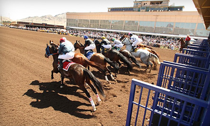 Sunland Park Racetrack - Sunland Park: $17 for Two Meals, Two Simulcast Programs, and a $10 Betting Voucher at Sunland Park Racetrack (Up to $34.50 Value)