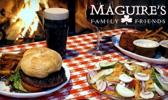 Maguire's Family & Friends Restaurant and Irish Pub - Atlanta: $10 for $25 Worth of Pub Fare and Drinks at Maguire's in Senoia