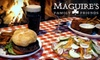 Maguire's Family & Friends Restaurant and Irish Pub - Senoia: $10 for $25 Worth of Pub Fare and Drinks at Maguire's in Senoia
