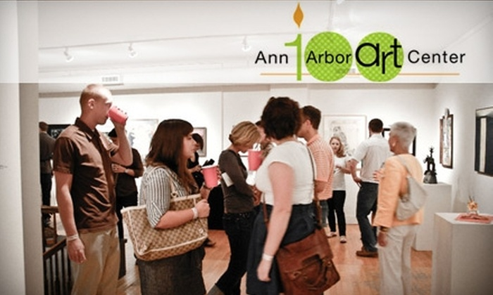 Ann Arbor Art Center - Bach: One-Year Membership to the Ann Arbor Art Center (Up to $100 Value). Choose from Two Membership Options.