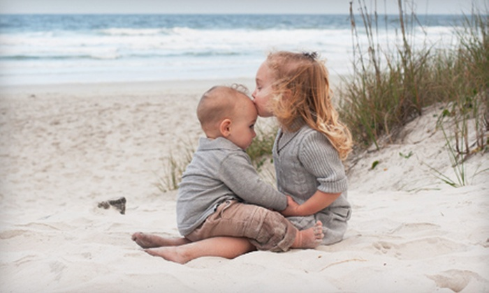 """Kailani Photography - Multiple Locations: $50 for a Beach or Woods Photo Shoot and an 8""""x10"""" Print from Kailani Photography ($115 Value)"""